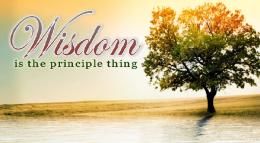 WISDOM - The Principle Thing - PT 9